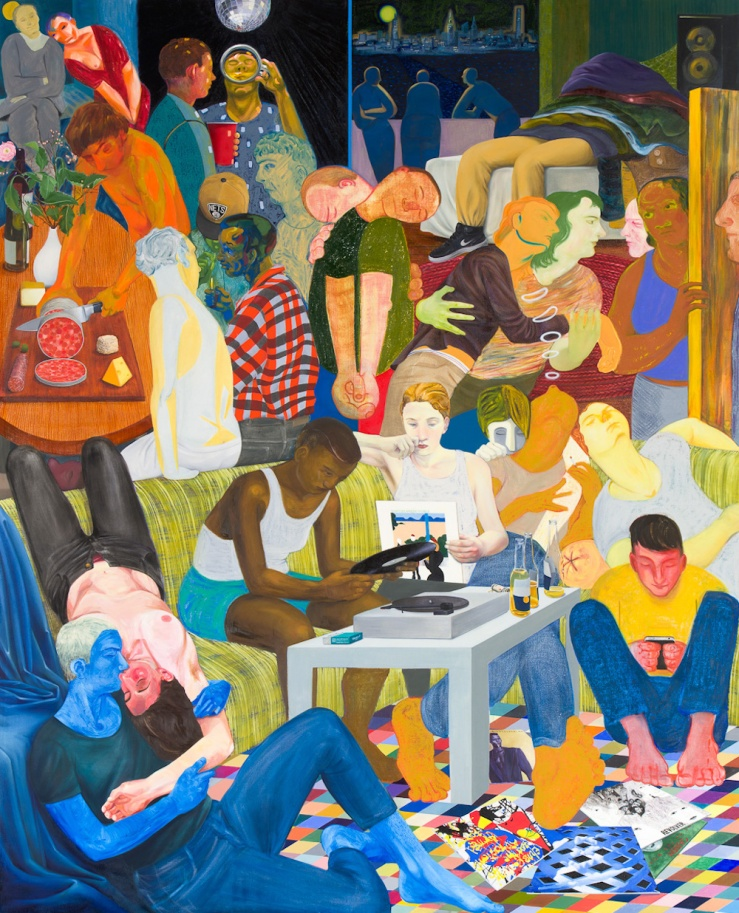 nicole-eisenman-another-green-world-2015-oil-on-canvas-128-x-106-inches