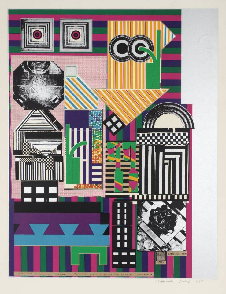 Artificial Sun 1964 by Sir Eduardo Paolozzi 1924-2005