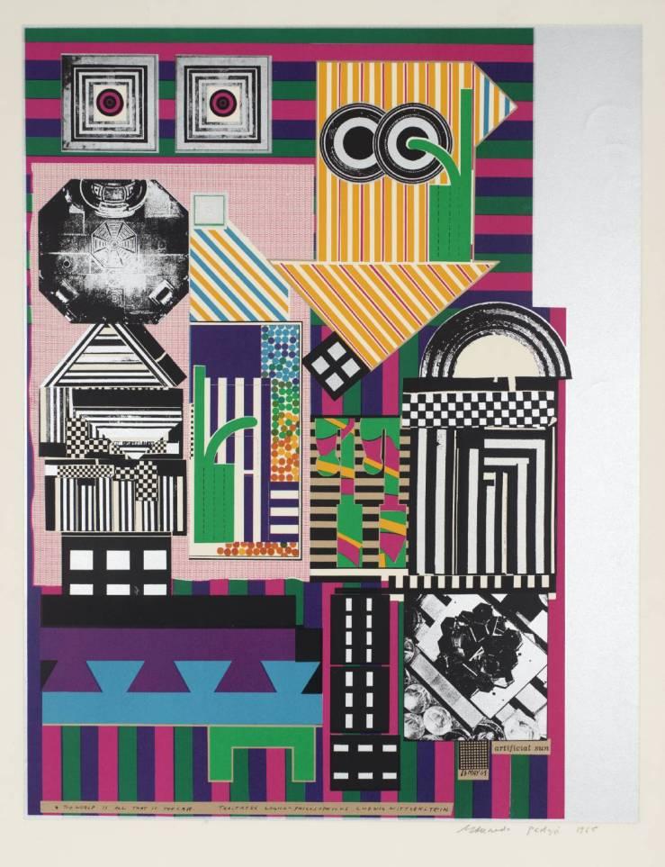 Artificial Sun 1964 by Sir Eduardo Paolozzi 1924-2005