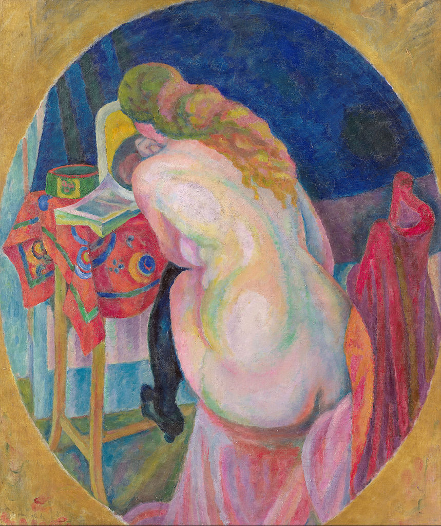 859px-robert_delaunay_-_nude_woman_reading_-_google_art_project