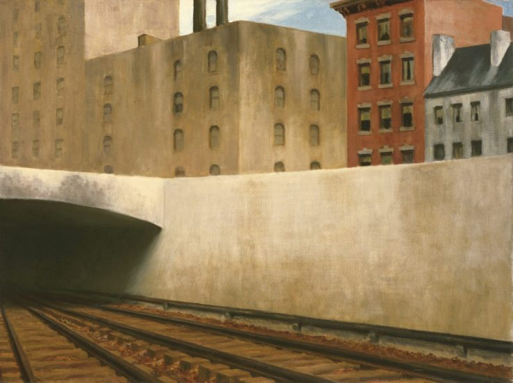 hopper_anfahrt_in_eine_stadt_phillips_collection