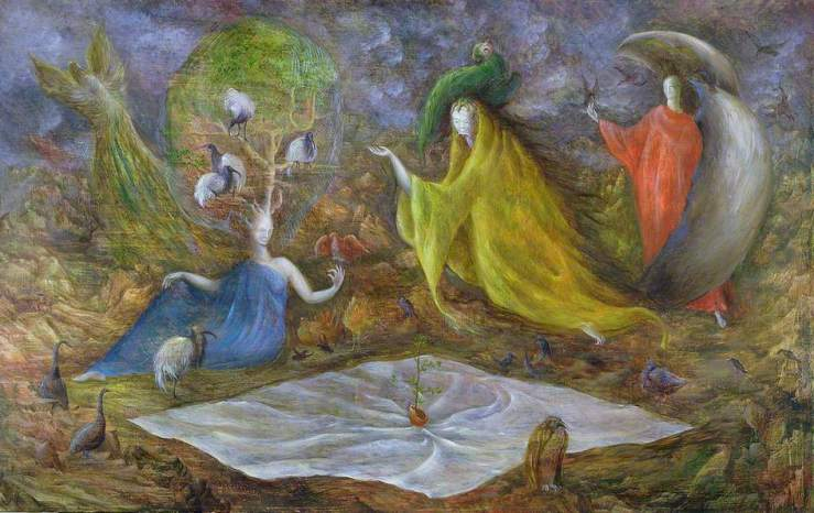 Carrington, Leonora, 1917-2011; The Pomps of the Subsoil