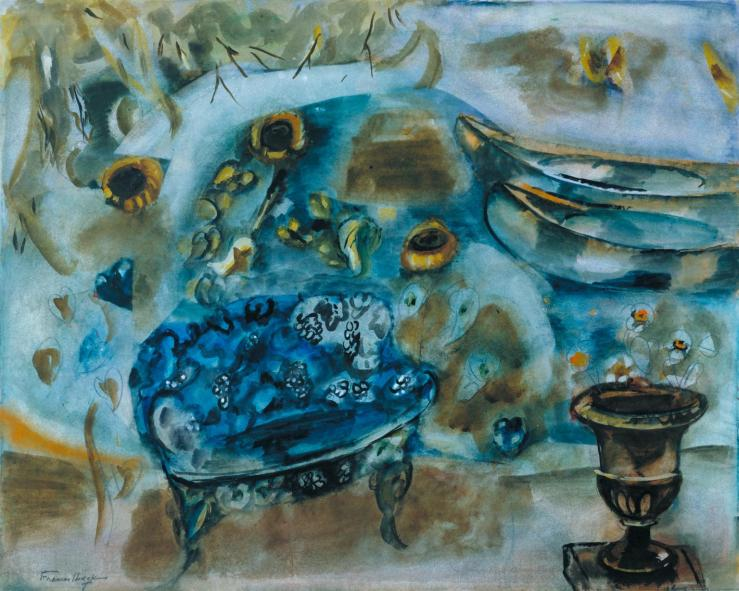 The Lake c.1930-5 by Frances Hodgkins 1869-1947