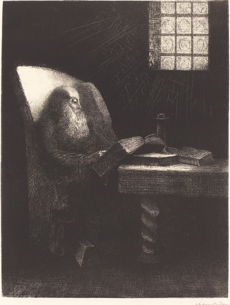 odilon-redon-le-liseur-the-reader-1892