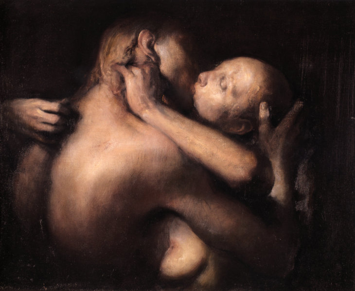 odd-nerdrum-the-kiss