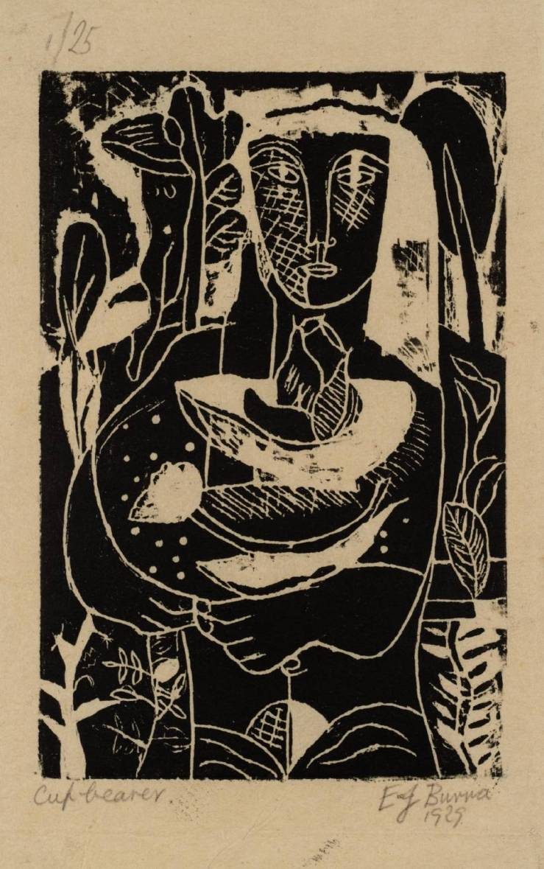 Cupbearer 1929 by Edward Burra 1905-1976