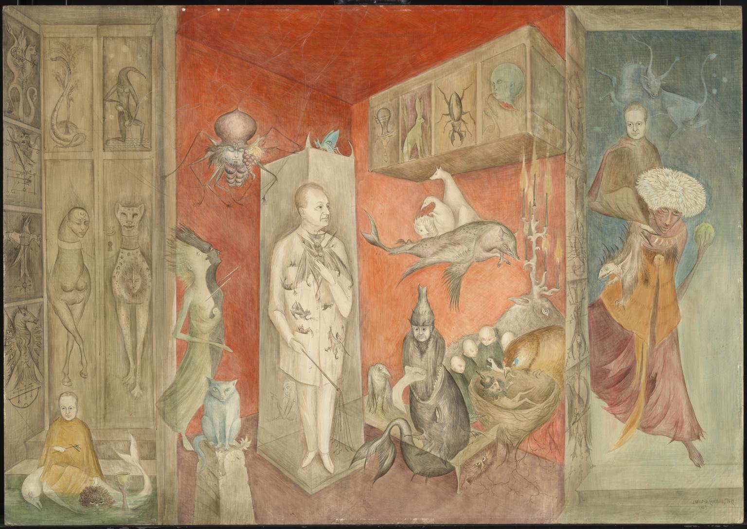 Transference 1963 by Leonora Carrington 1917-2011