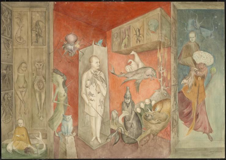 Transference 1963 by Leonora Carrington 1917-2011