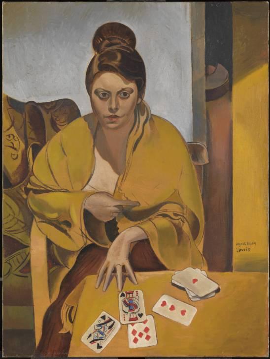 La Suerte 1938 by Wyndham Lewis 1882-1957