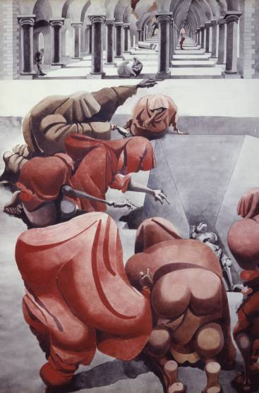 [title not known] 1940 by Edward Burra 1905-1976