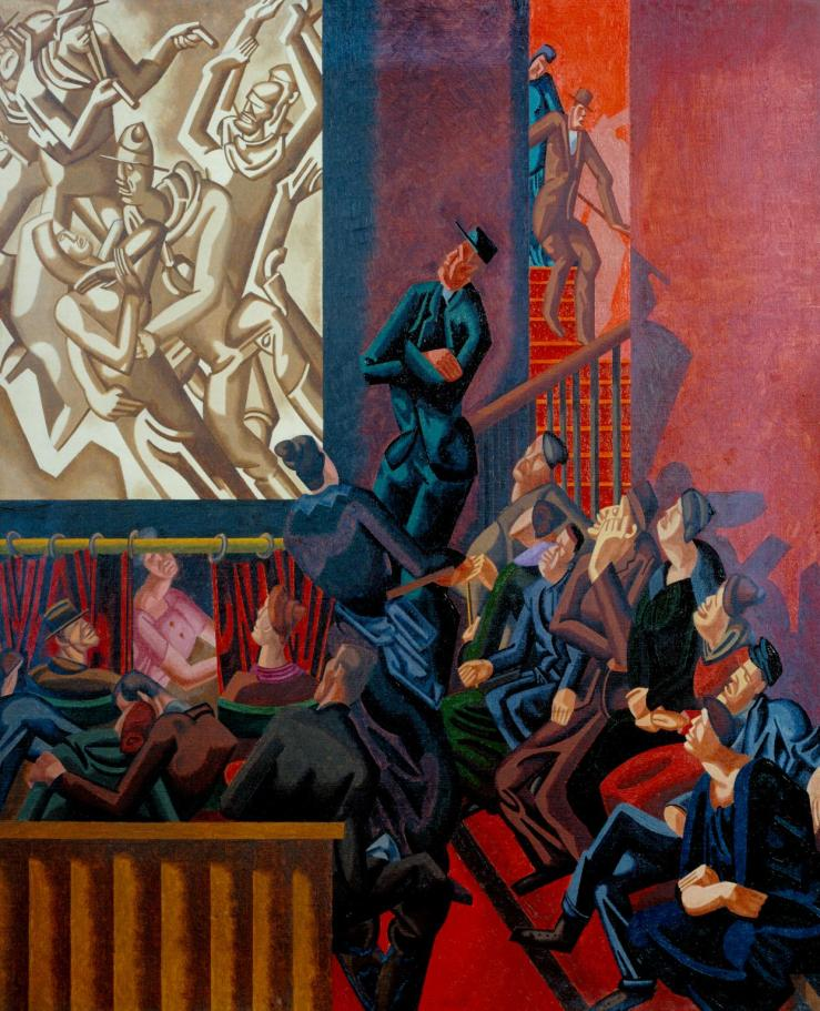The Cinema 1920 by William Roberts 1895-1980