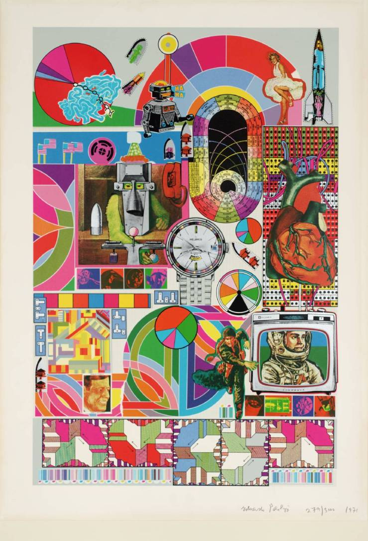 Bash 1971 by Sir Eduardo Paolozzi 1924-2005