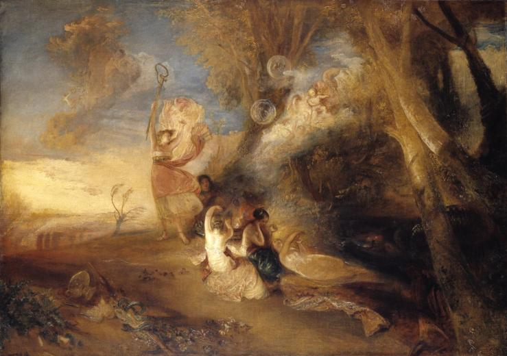 Vision of Medea 1828 by Joseph Mallord William Turner 1775-1851