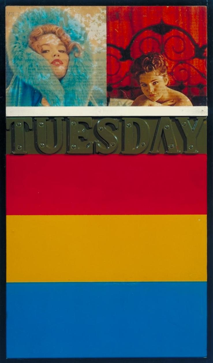 Tuesday 1961 by Peter Blake born 1932