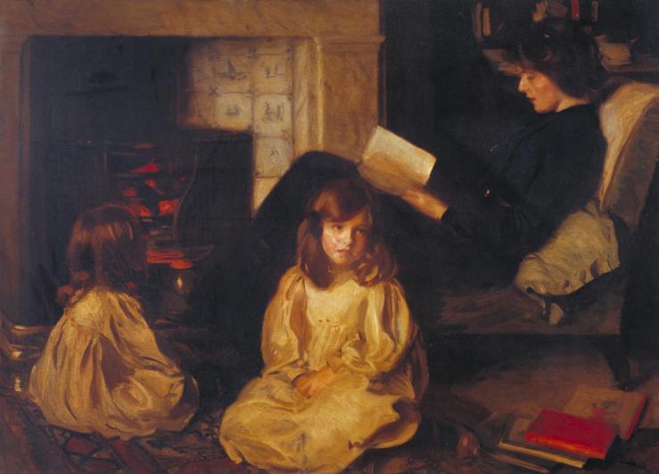 The Fairy Tale 1902 by Harrington Mann 1864-1937