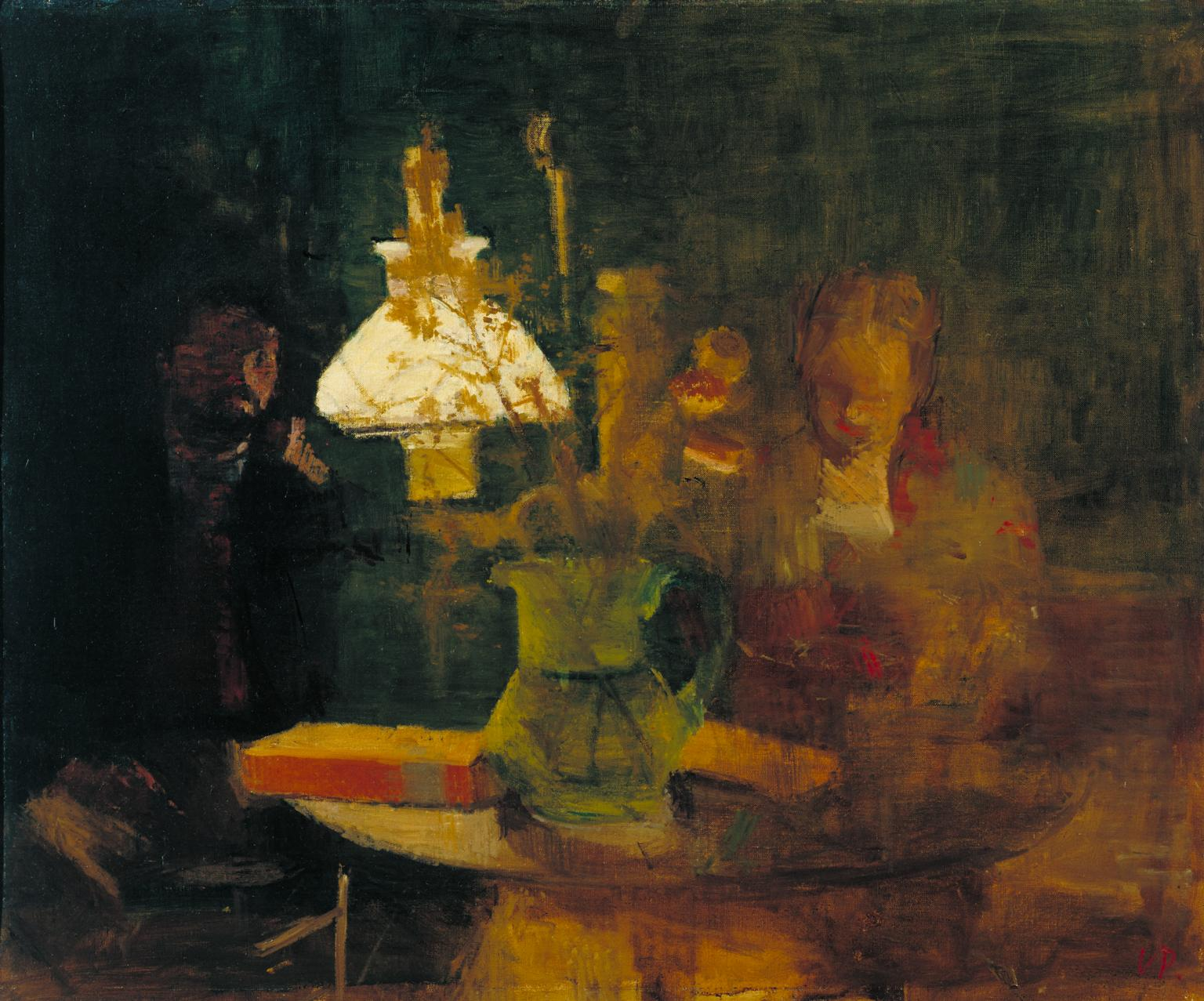 Lamplight 1941 by Victor Pasmore 1908-1998