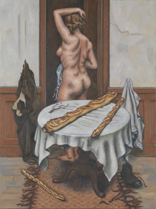 Nude with Loaves 1952 by Jean H?lion 1904-1987