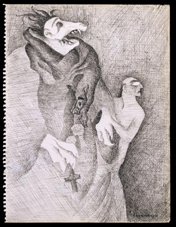 Do You Know My Aunt Eliza? 1941 by Leonora Carrington 1917-2011