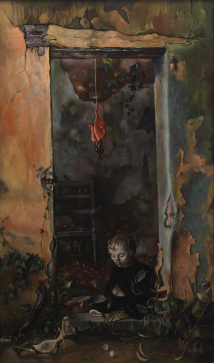 Little Hermit Sphinx 1948 by Leonor Fini 1908-1996