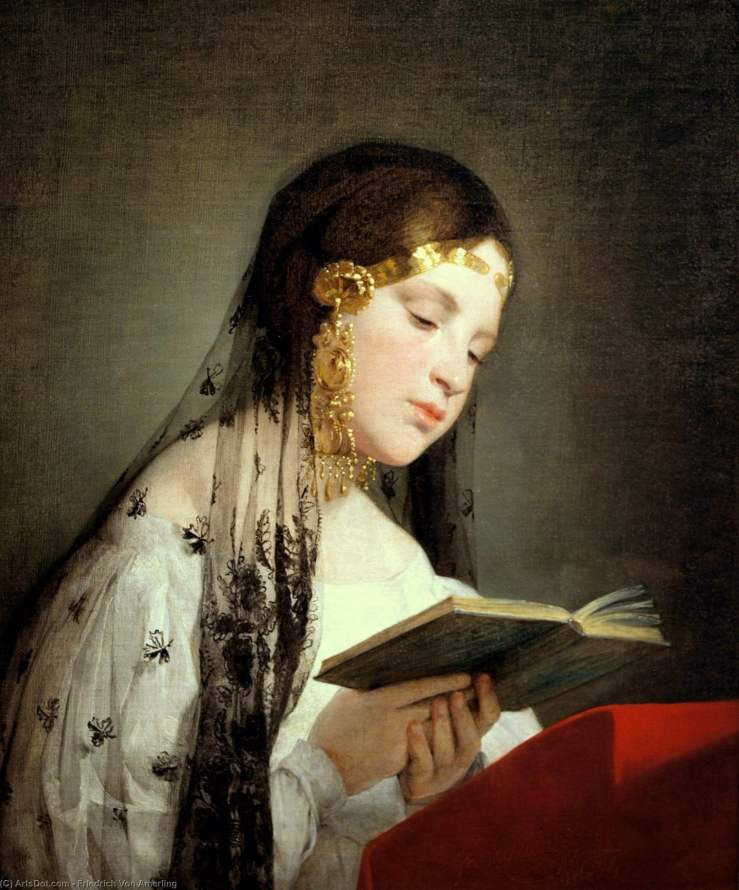 friedrich_von_amerling-reading_girl
