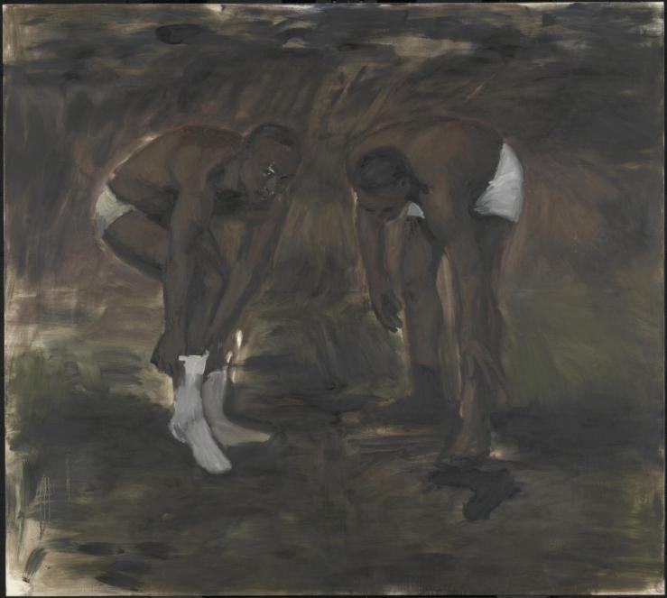 The Generosity 2010 by Lynette Yiadom-Boakye born 1977