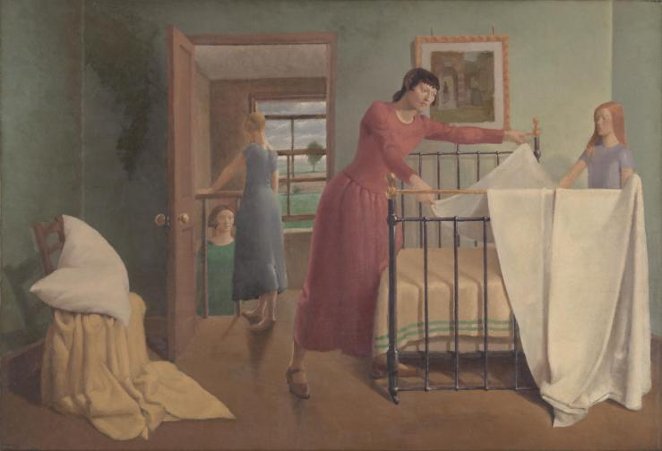 Any Morning exhibited 1929 by Margaret Barker 1907-2003