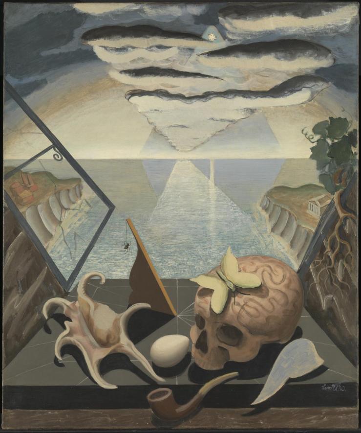 Casement to Infinity 1930 by Leon Underwood 1890-1975