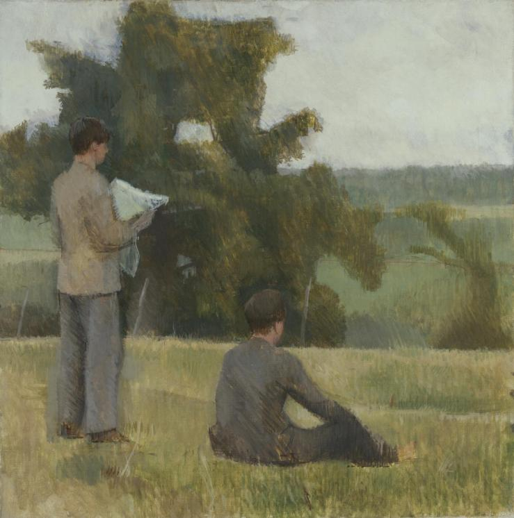 On the Map 1937 by Sir William Coldstream 1908-1987